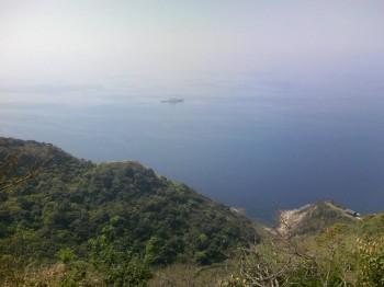 馬渡島 番所の辻展望所からの眺め