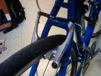 自転車製作 Vブレーキ