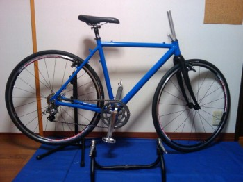自転車製作No5