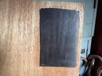 和紙と塗装テスト